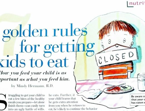 Older Not Old — Advice for Feeding Kids
